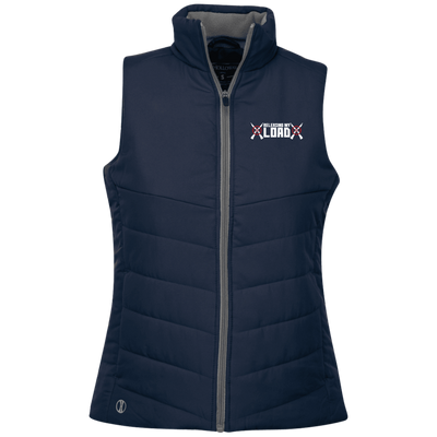 """Releasing my Load"" Ladies' Quilted Vest"