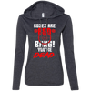 """Roses are Red"" Ladies' T-Shirt Hoodie"