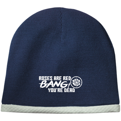 """Roses are Red"" Performance Knit Cap"