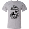 """She Dances Like"" Men's Printed V-Neck T-Shirt"