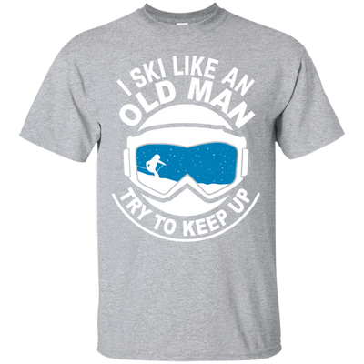 """Ski Old Man"" Ultra Cotton T-Shirt"