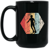 Skiiry 15 oz. Black Mug