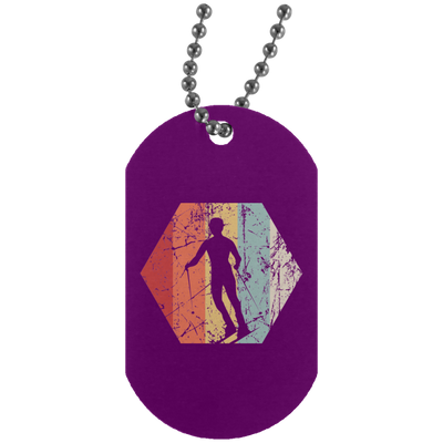 Skiiry Silver Dog Tag