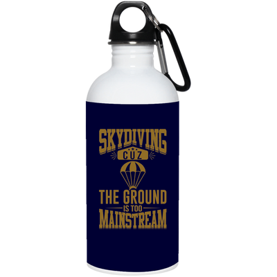 """Skydiving"" Stainless Water Bottle"