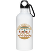"""Social Networking"" Stainless Steel Water Bottle"