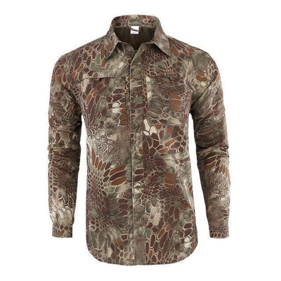 Stealth - Mens Anti-UV Camo Shirt
