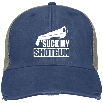 """Suck My Shotgun"" Ollie Cap"