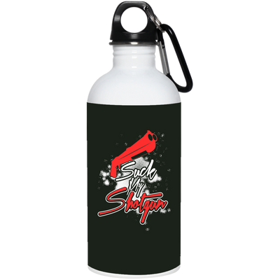 """Suck my Shotgun"" Stainless Steel Water Bottle"