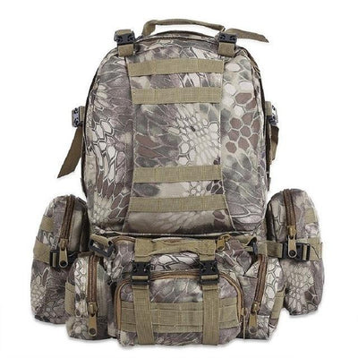 Tuffpack - 50L Tactical MOLLE Backpack