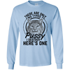 """Types of Pussy"" LS Ultra Cotton T-Shirt"