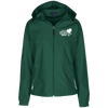 """Why buy? Hunt it!"" Ladies' Hooded Windbreaker"