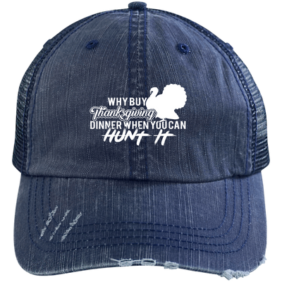 """Why buy? Hunt it!"" Trucker Cap"