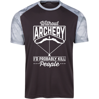 """Without Archery"" CamoHex T-Shirt"
