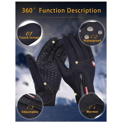 ZeroG - Windbreaking Winter Cycling Gloves