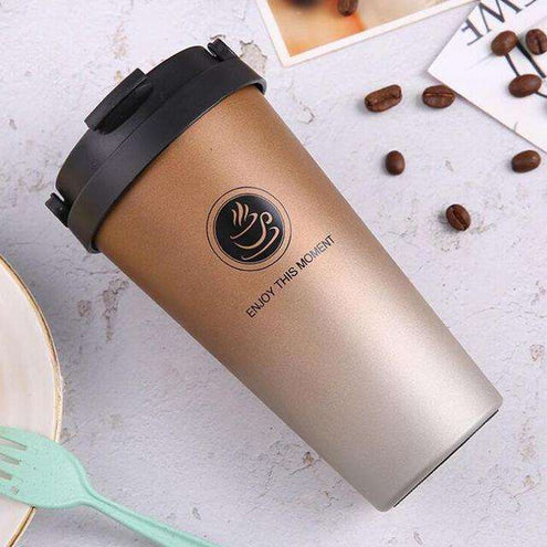 MugLife - Thermos pour café long : 360ML / AQW563 Gold