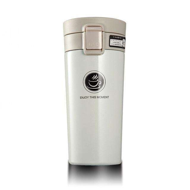 MugLife - Thermos pour café long : 360ML / AQW310 white