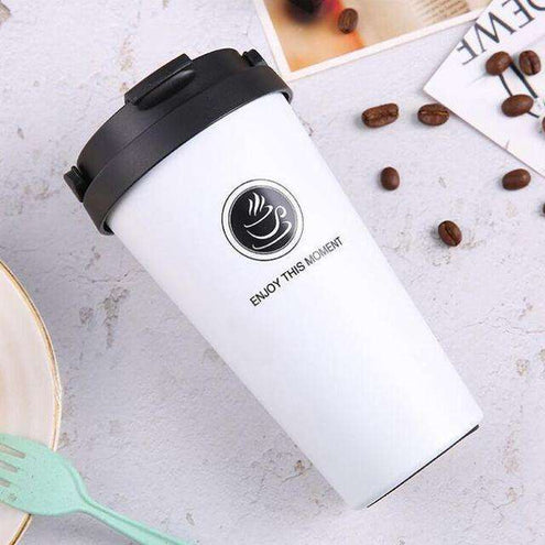 MugLife - Thermos pour café long : 360ML / AQW563 White