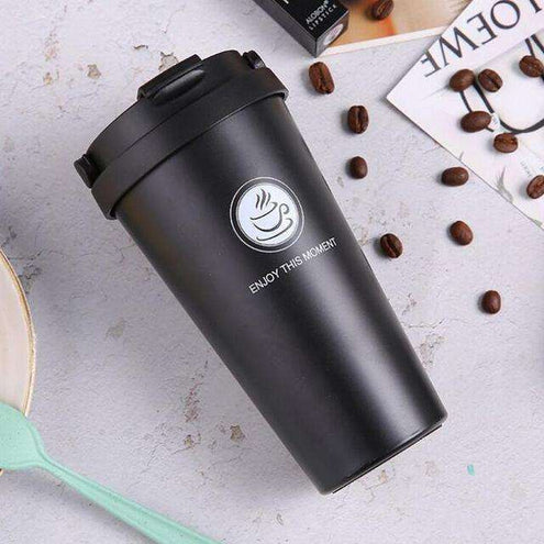 MugLife - Thermos pour café long : 360ML / AQW563 Black