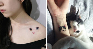 16 Cat Tattoos You're Definitely Going to Want