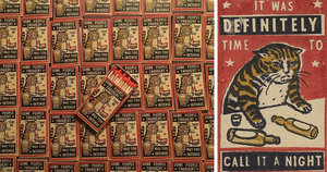 It Turns Out Art Depicting Drunk Cats Makes For Hilarious Matchbox Art