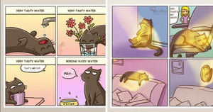 11 Times Illustrators Purr-fectly Captured Cats In Comics