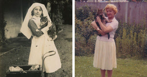 Wonderful Vintage Portraits Of Women And Their Cats Perfectly Illustrate Their Eternal Bond