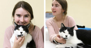 15-Year-Old Girl Volunteered At A Shelter And Was Reunited With Her Lost Childhood Cat