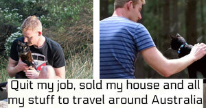 This Guy Quit His Corporate Job And Sold His House So He Could go On Adventures With His Cat