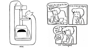 Artist Nails What It Is Like To Have A Cat In These Adorable Comics