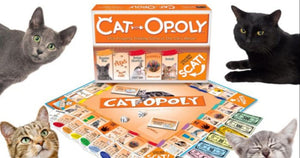 Cat Lovers Rejoice Because Cat-Opoly Lets You Buy Cats Instead of Boring Railroads