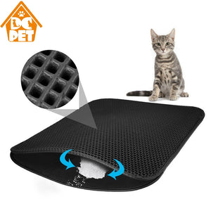 Double Layer Waterproof Cat Litter Mat - Cats On Catnip