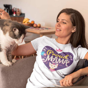 Proud Cat Mama - T-Shirt - Cats On Catnip