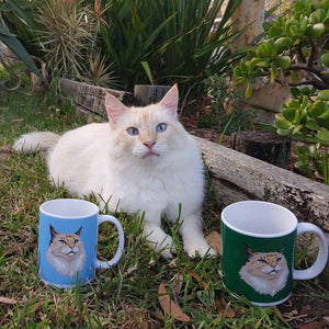 Personalized Cat Mug - Cats On Catnip