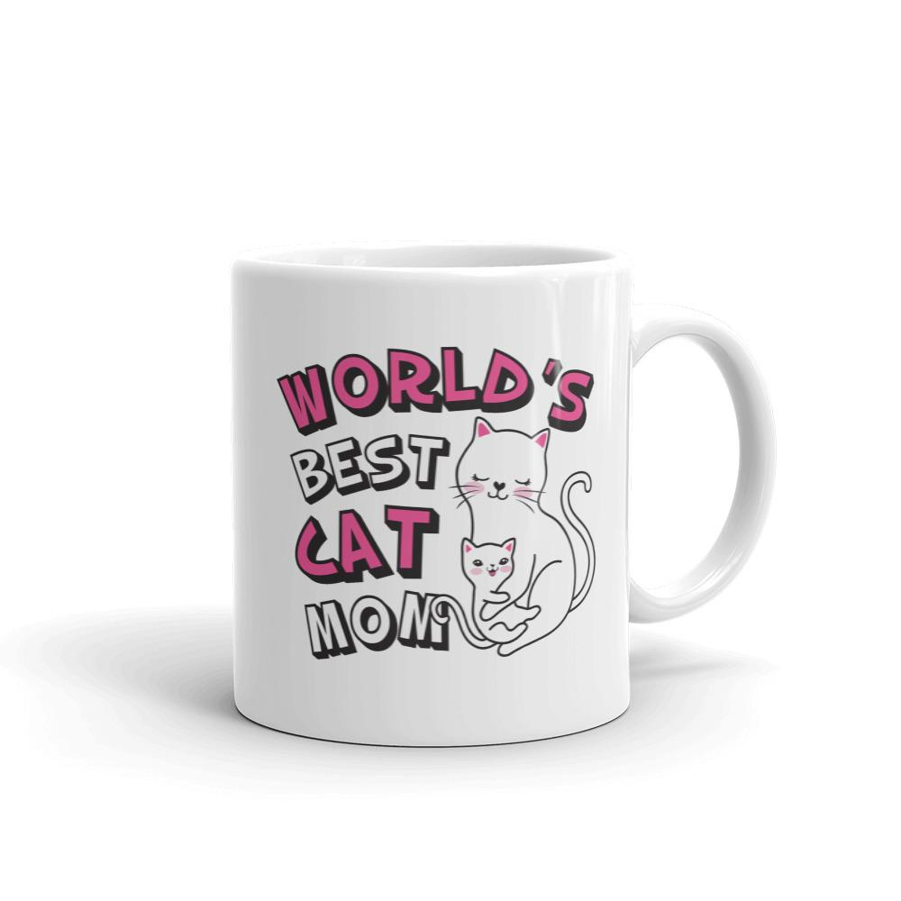 World's Best Cat Mom - Mug - Cats On Catnip