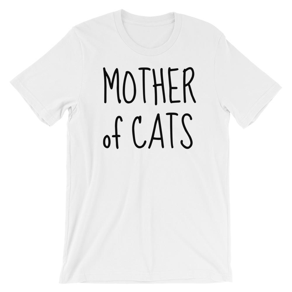 Mother of Cats Short-Sleeve T-Shirt - Cats On Catnip