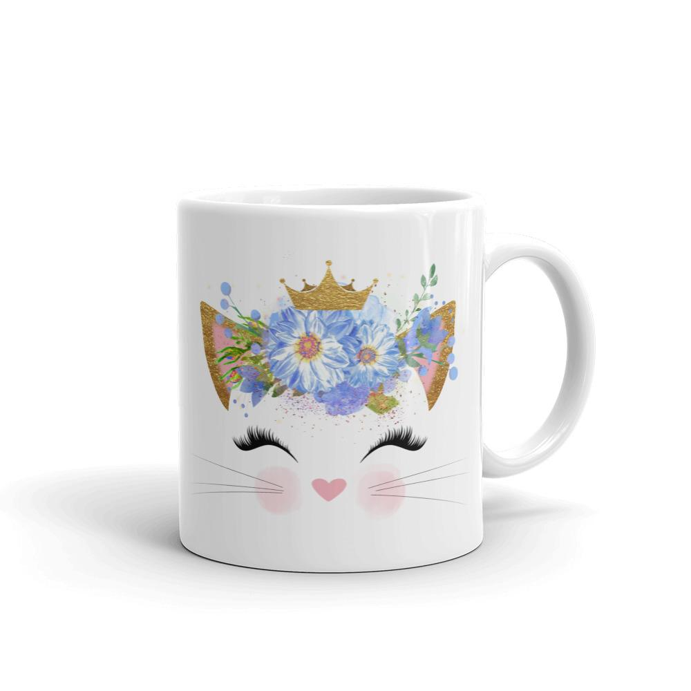 Flower Crown - Mug - Cats On Catnip