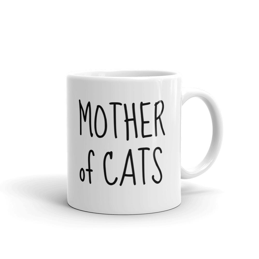 Mother of Cats - Mug - Cats On Catnip
