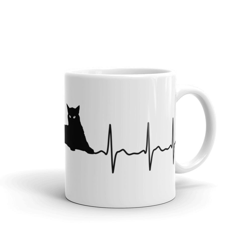 My Cat Is My Lifeline - Mug - Cats On Catnip