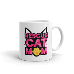 Rescue Cat Mom - Mug - Cats On Catnip
