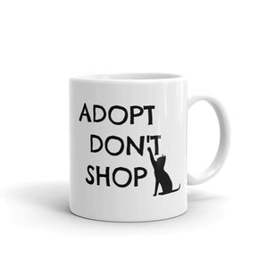 Adopt Don't Shop - Mug - Cats On Catnip