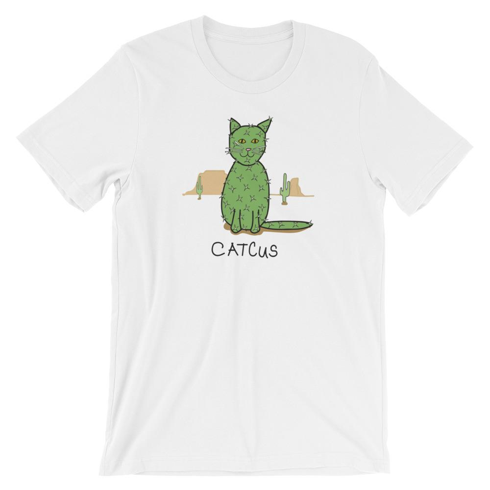 Catcus Cat - T-Shirt - Cats On Catnip