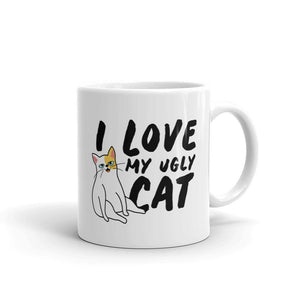 I Love My Ugly Cat - Mug - Cats On Catnip