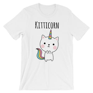 Kitticorn Short-Sleeve Unisex T-Shirt - Cats On Catnip