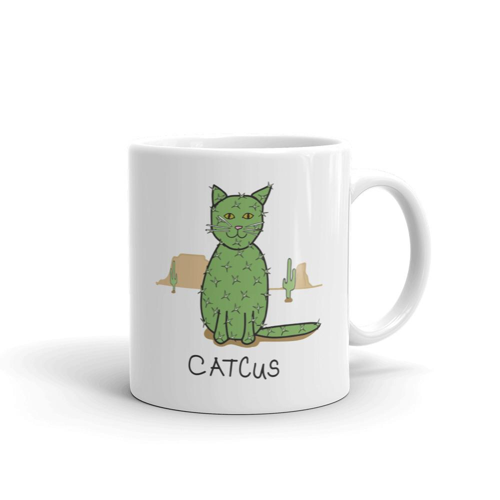 Catcus Cat - Mug - Cats On Catnip
