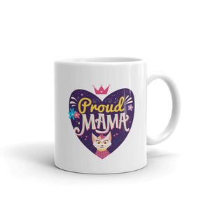 Proud Cat Mama - Mug - Cats On Catnip