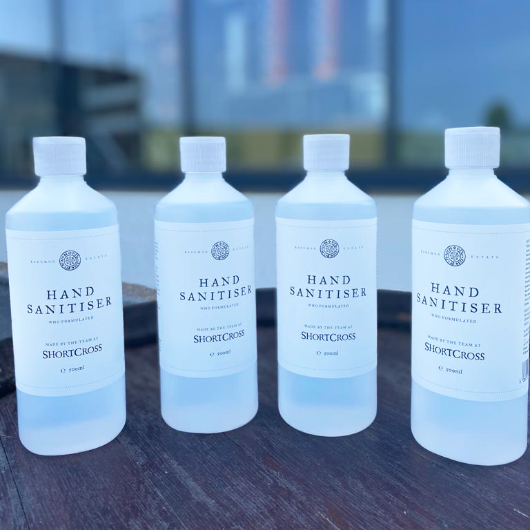 Shortcross Hand Sanitiser - Distillery Collection Only
