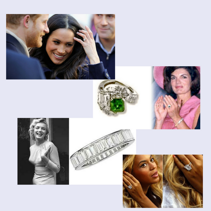 The World's Most Iconic Engagement Rings.