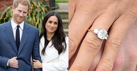 Meghan Markle Duchess of Sussex Engagement Ring