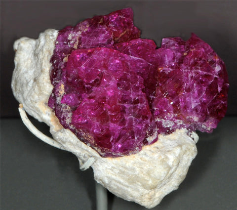 Limestone to Ruby Gemstone