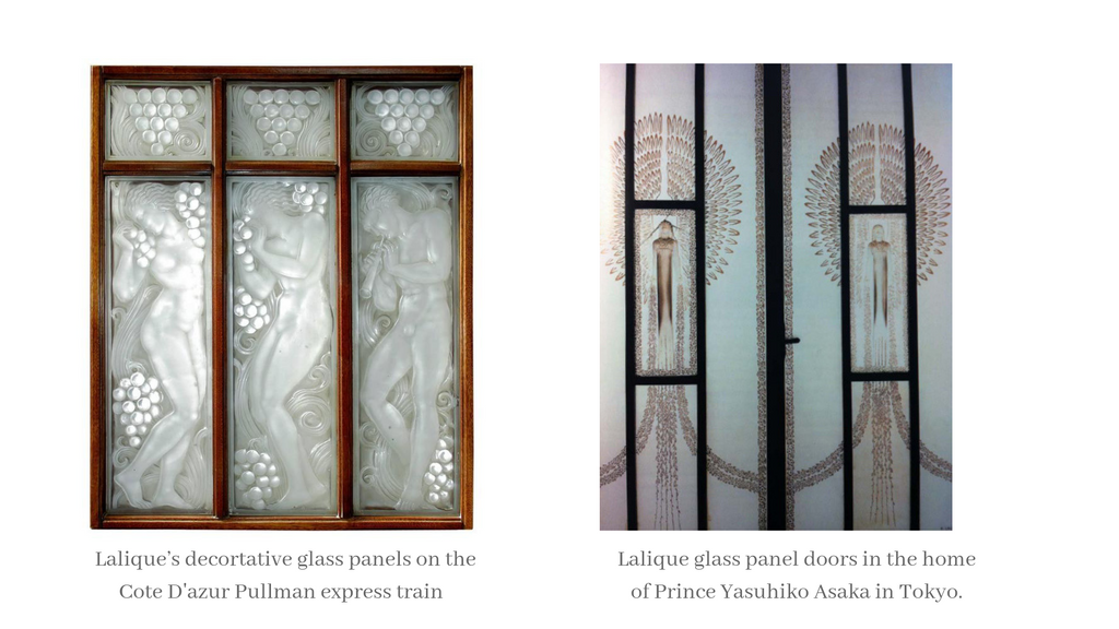 Lalique Jewellery and Glass